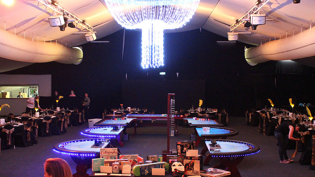7 Table Fun Casino Event On The Sunshine Coast For A Great Party Idea
