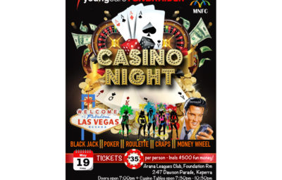 youngcare fundraising fun casino